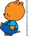熊圖像,例證 48556124