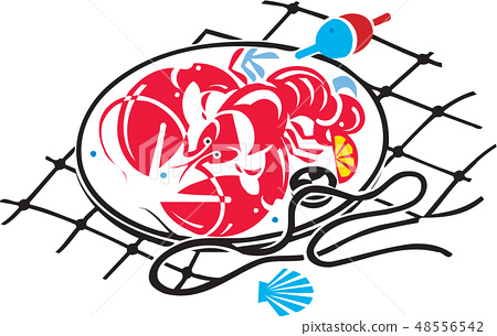 Fish image, illustration 48556542