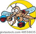 昆蟲圖像,例證 48556635