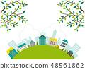 Landscape Townscape hill 48561862