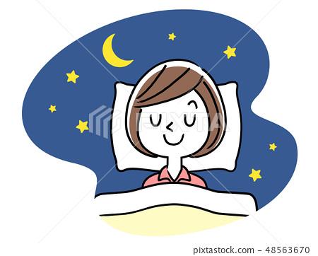 睡覺:小姐 48563670