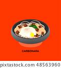 SPAGHETTI CARBONARA 48563960
