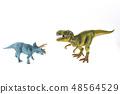 Dinosaur Tyrannosaurus Triceratops Showdown 48564529