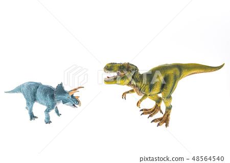 Dinosaur Tyrannosaurus Triceratops Showdown 48564540