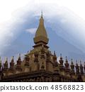Buddhist Temple of Laos 48568823