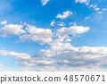 雲 雲の形状 cloud shape 雲朵 天空 blue sky 藍天 青空と白雲 晴朗 ほがらか 48570671