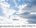 雲 雲の形状 cloud shape 雲朵 天空 blue sky 藍天 青空と白雲 晴朗 ほがらか 48570675