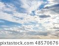 雲 雲の形状 cloud shape 雲朵 天空 blue sky 藍天 青空と白雲 晴朗 ほがらか 48570676