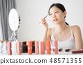 female makeup beauty  48571355