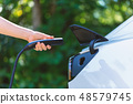 Charging an electric vehicle 48579745