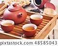 Chinese tea ceremony 48585043