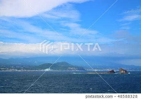 제주 서귀포 해안,형제섬,바다, 48588328