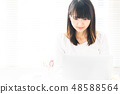 นักธุรกิจหญิง 48588564