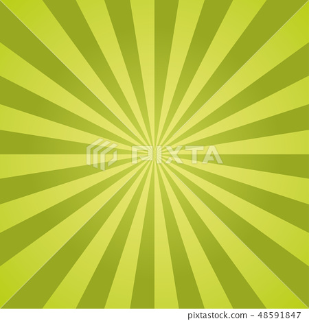 Sunburst vector pattern with green color palette. 48591847