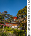 Zhongshan Temple where the plum is in full bloom 48592832