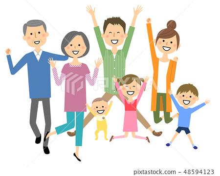 점프 패밀리 세 가족 48594123