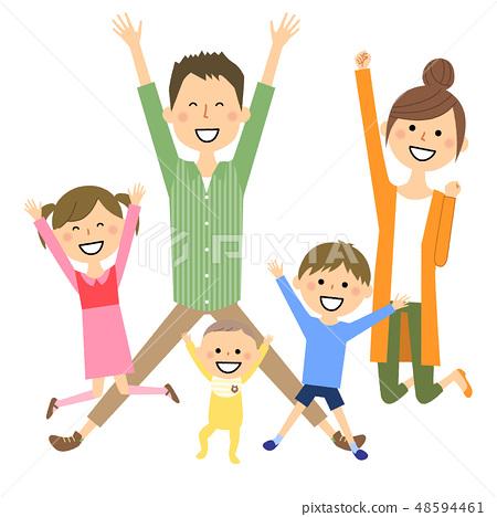 家庭兩代家庭跳 48594461
