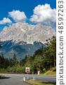 Zugspitze Peak in Wetterstein Mountains - Austria 48597263