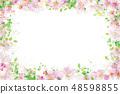 Vector  floral  frame.   48598855