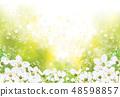 Vector spring floral background. 48598857