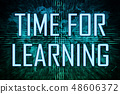 Time for Learning 48606372