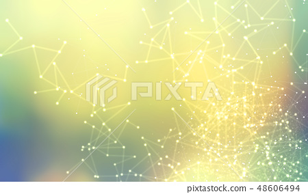 Abstract net pattern background 48606494