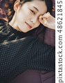 Woman rooftop portrait 48621845