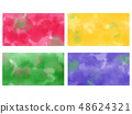 Bleeding paint background Wallpaper 48624321