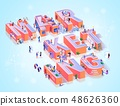Business Marketing Advertising Typography Banner 48626360