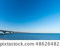 Tokyo Bay Aqua Line Sea and sky 48626482