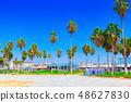 Famous Los Angeles Beach - Venice Beach  48627830