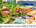 World famous park Universal Studios in Hollywood. 48627838