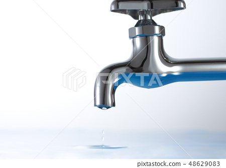 供水 - 龍頭水滴 48629083