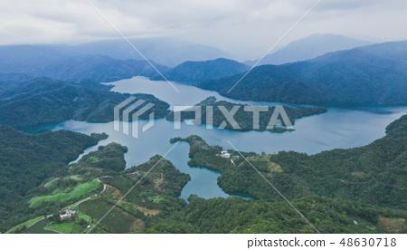 山 湖泊 台灣 坪林 48630718