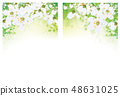 Vector floral  banners.  48631025