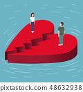 Broken Heart on the sea 48632938