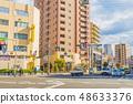 오사카 시내 시가지 풍경 48633376