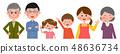 第三代家庭帶著微笑 48636734