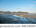 Wild bird playing in Sone Tidal Flats 【Fukuoka Prefecture】 48638684