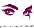 眼睛 女人 女性 48647509
