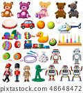 Set of children toys 48648472