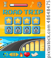 A road trip game template 48648475