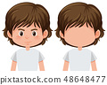 Set of male character 48648477