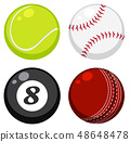 Set of different ball 48648478