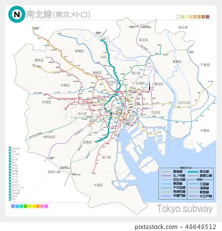 Namboku Line (Metro / Tokyo Metro) 48648512