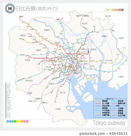 Hibiya Line (Subway / Tokyo Metro) 48648631