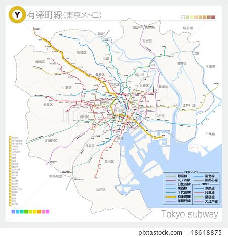 Yurakucho Line (Subway / Tokyo Metro) 48648875
