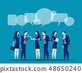 นักธุรกิจ,การสนทนา,การแลกเปลี่ยนความคิด 48650240