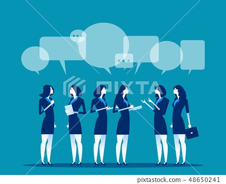 Business corporate meeting. Concept business 48650241