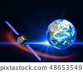 衛星地球日本日本GPS通信網絡 48653549